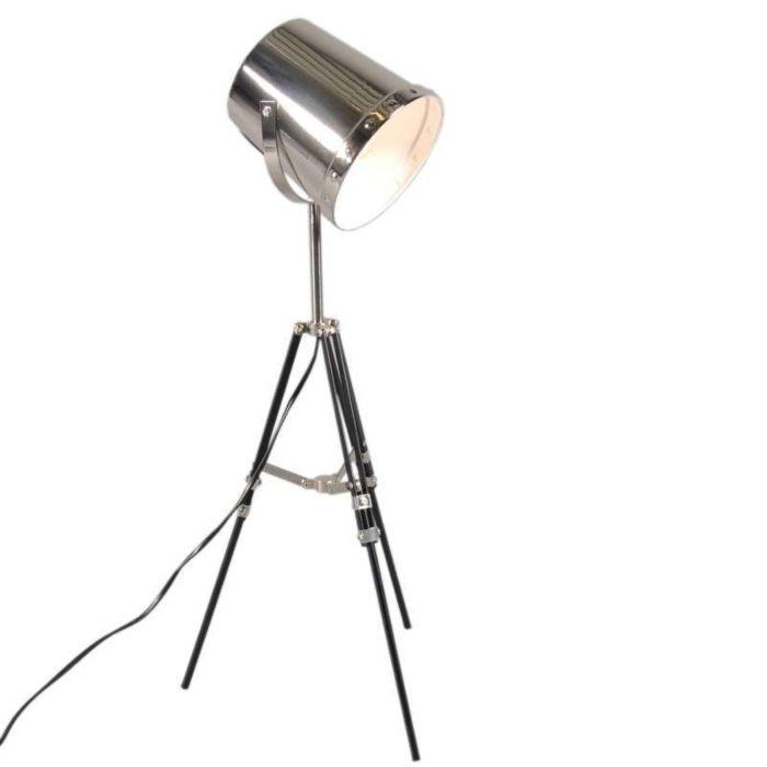 Lámpara-de-mesa-BENNA-trípode-cromo