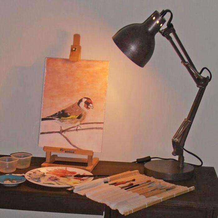 Lámpara-de-mesa-MESA-antigua
