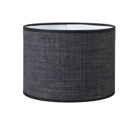 Pantalla-cilíndrica-para-lámpara-colgante/-de-mesa/-de-pie-20/20/15-gris-oscuro