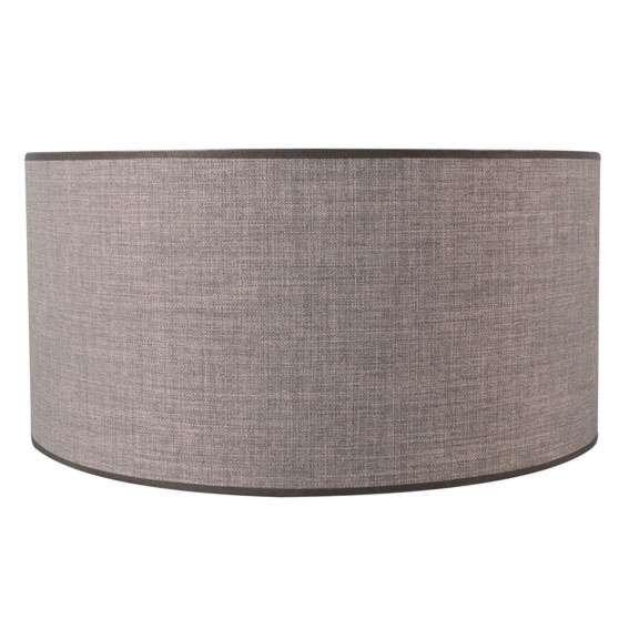 Pantalla-cilíndrica-para-lámpara-colgante/-de-mesa/-de-pie-50/50/25-marrón-gris