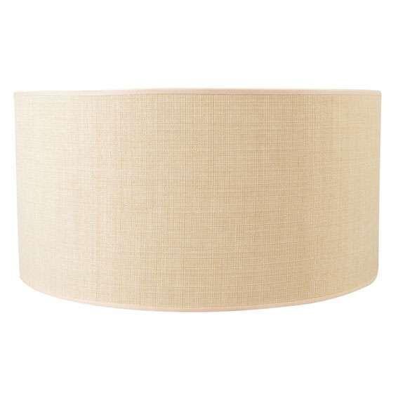 Pantalla-cilíndrica-para-lámpara-colgante/-de-mesa/-de-pie-50/50/25-beige