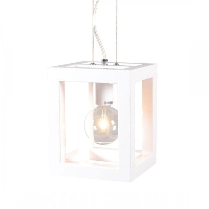 Lámpara-colgante-CAGE-1-blanca