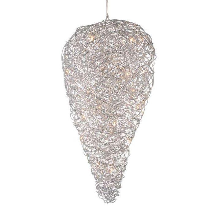 Lámpara-colgante-DRAHT-Drip-aluminio