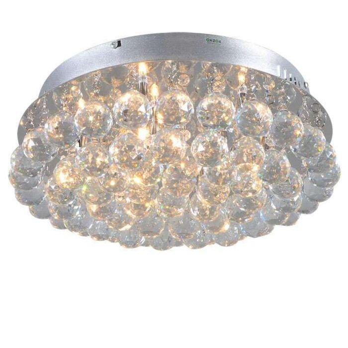 Plafón-DIAMOND-40cm-cromo