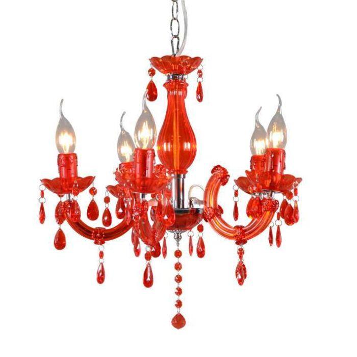 Lámpara-de-araña-MARIE-THERESA-5-rojo