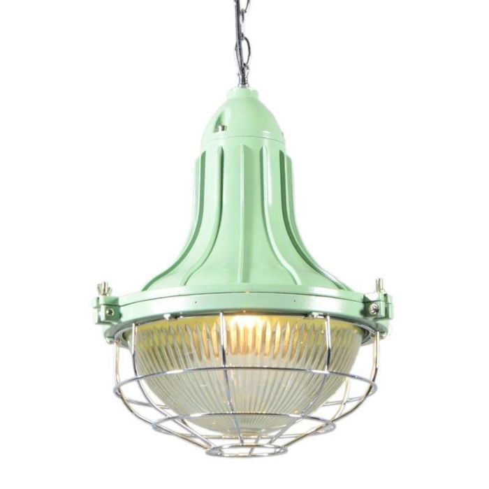 Lámpara-colgante-STORK-II-verde