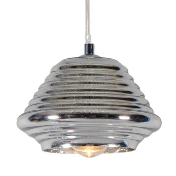 Lámpara-colgante-TREVISO-II-cristal-cromado