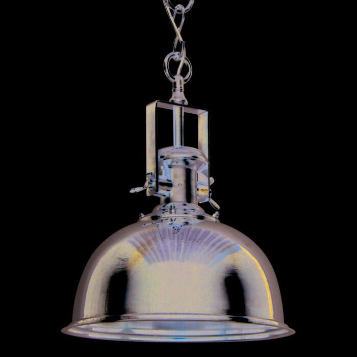 Lámpara-colgante-ZINE-L-cromo