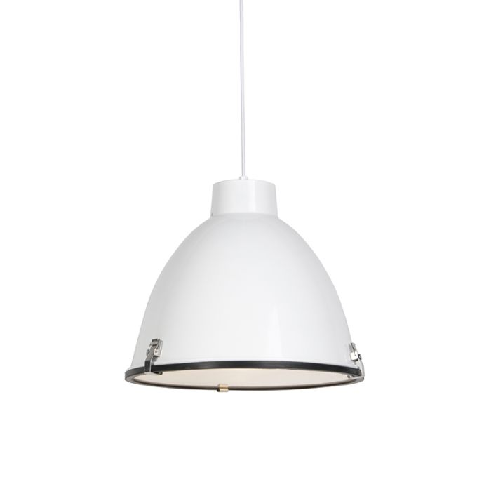 -Lámpara-colgante-industrial-blanca-38cm---ANTEROS