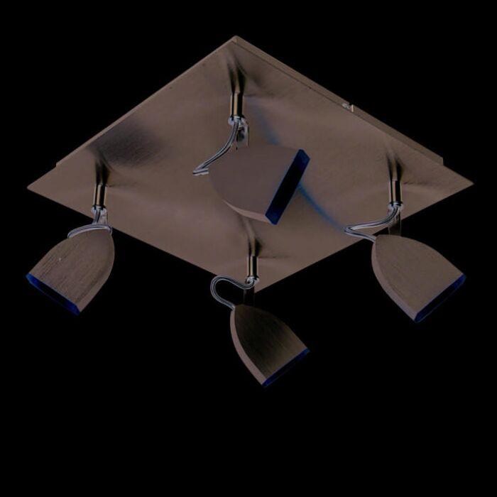 Plafón-SPACE-4-LED