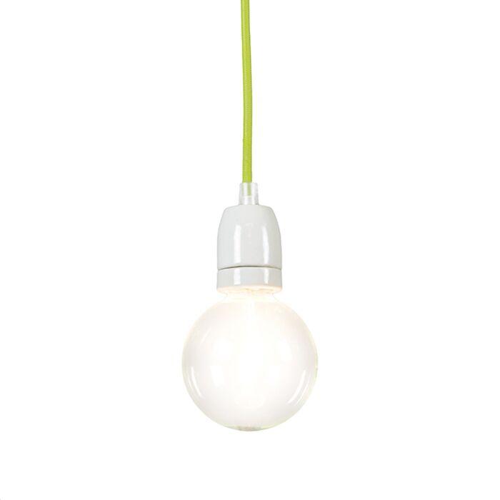 Lámpara-colgante-CAVO-verde