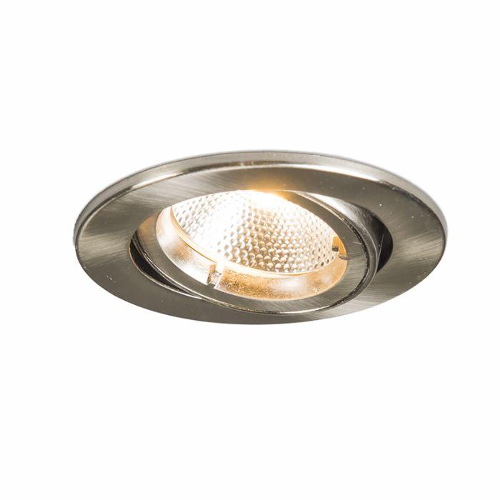 Foco-empotrado-SAFE-redondo-acero-6W-LED