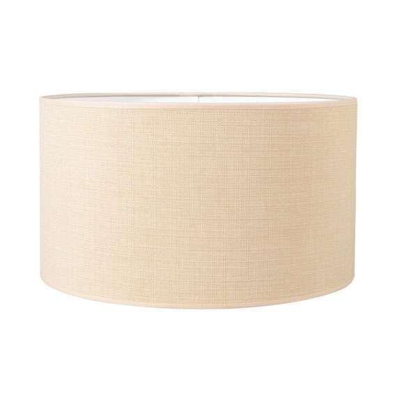 Pantalla-cilíndrica-para-lámpara-colgante/-de-mesa/-de-pie-35/35/20-beige