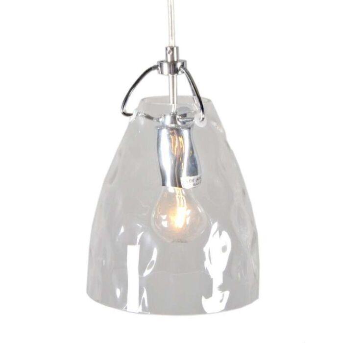 Lámpara-colgante-TREVISO-cristal-transparente