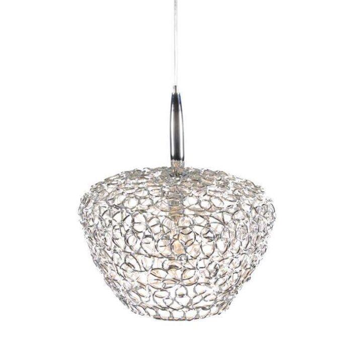 Lámpara-colgante-Cocoon-42-cromo