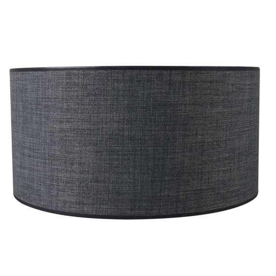 Pantalla-cilíndrica-para-lámpara-colgante/-de-mesa/-de-pie-50/50/25-gris-oscuro