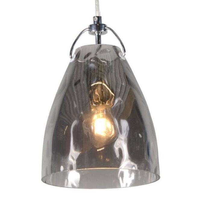 Lámpara-colgante-TREVISO-V-cristal-ahumado
