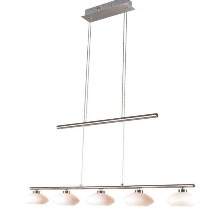 Lámpara-colgante-SATURNO-5-acero