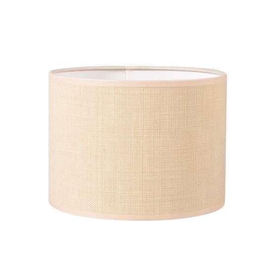 Pantalla-cilíndrica-para-lámpara-colgante/-de-mesa/-de-pie-20/20/15-beige