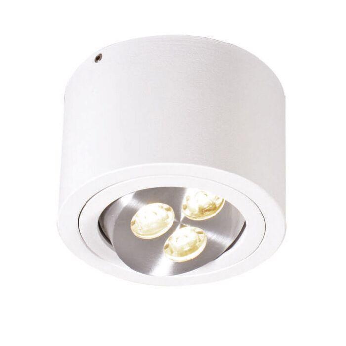 Plafón-KEONI-blanco-LED