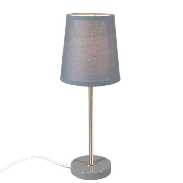Lámpara-de-mesa-NOTTE-gris