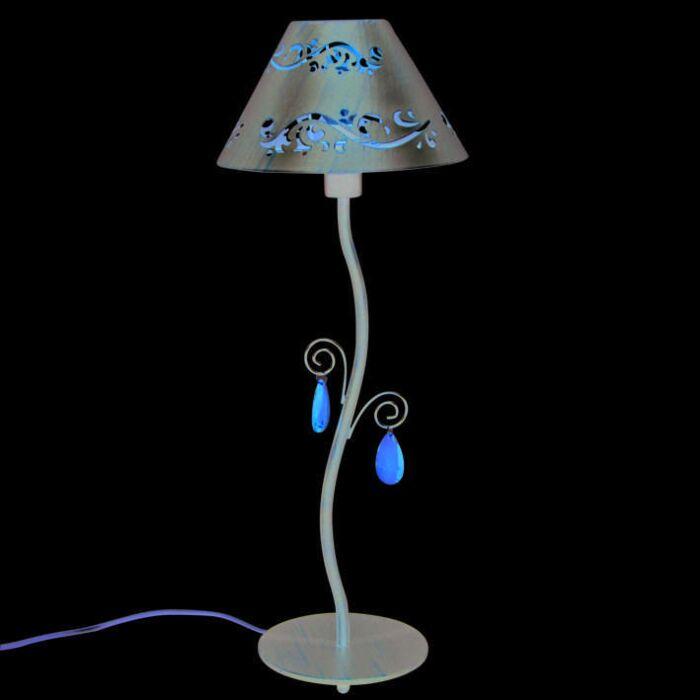 Lámpara-de-mesa-VERONA-marrón