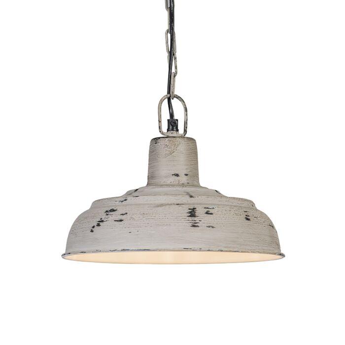 Lámpara-colgante-BARUN-26-gris-envejecido