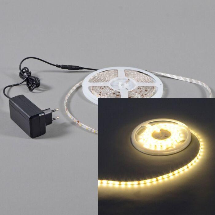 Tira-LED-flexible-blanco-cálido-IP65-3metros