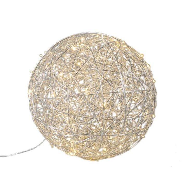 Lámpara-DRAHT-bola-60cm-LED-aluminio