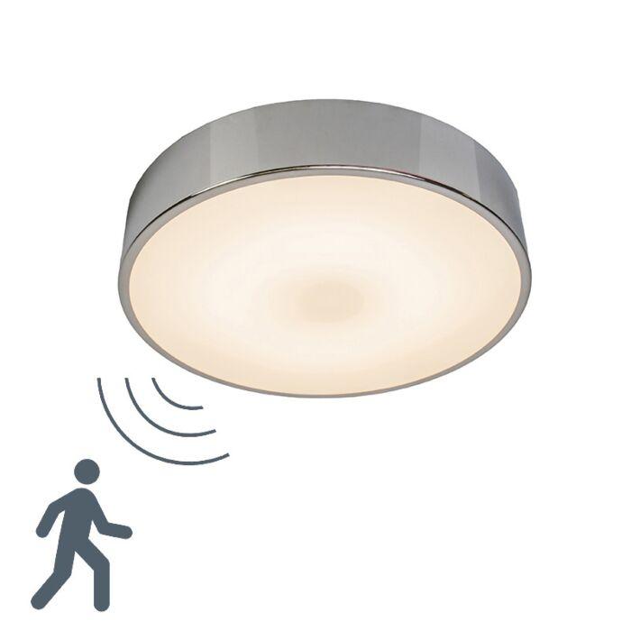 Plafón-Motion-II-LED-aluminio-con-sensor-de-movimiento