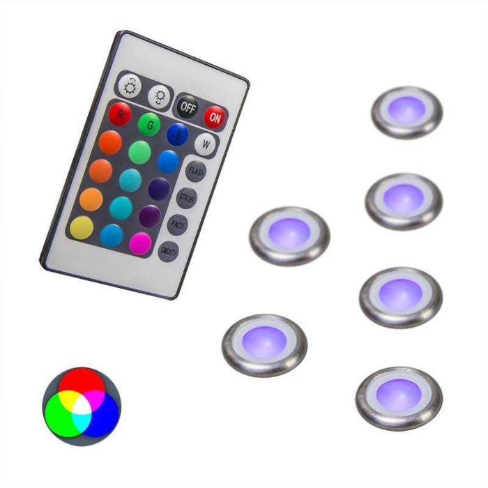 Juego-de-6-focos-empotrados-PRO-IP67-RGB