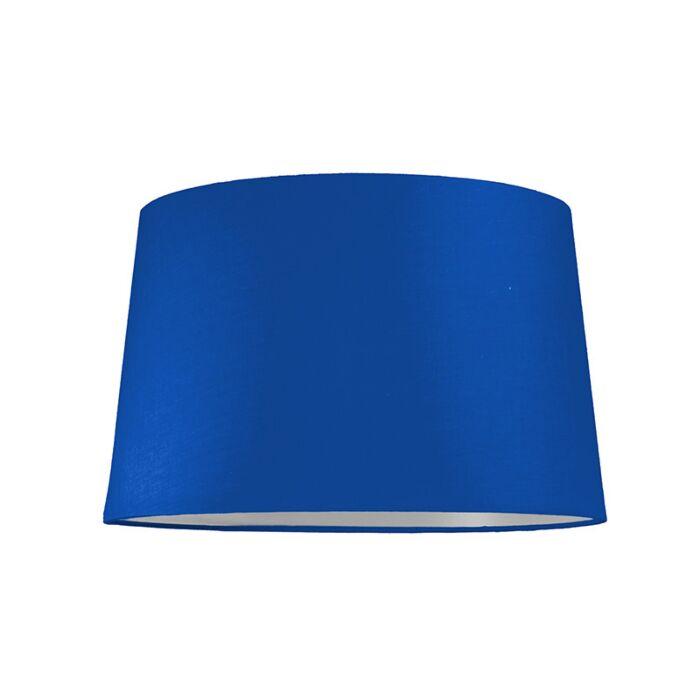Pantalla-para-lámpara-colgante-40cm-cónica-SU-E27-azul