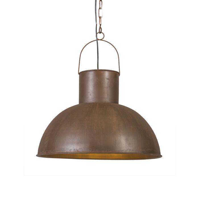 Lámpara-colgante-RUST-XL-óxido