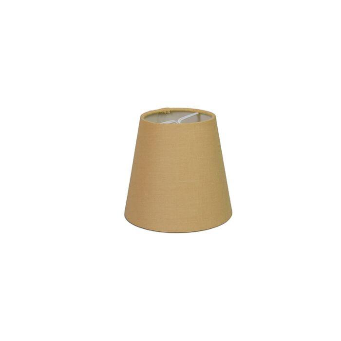 Pantalla-de-gancho-12cm-cónica-SC-beige