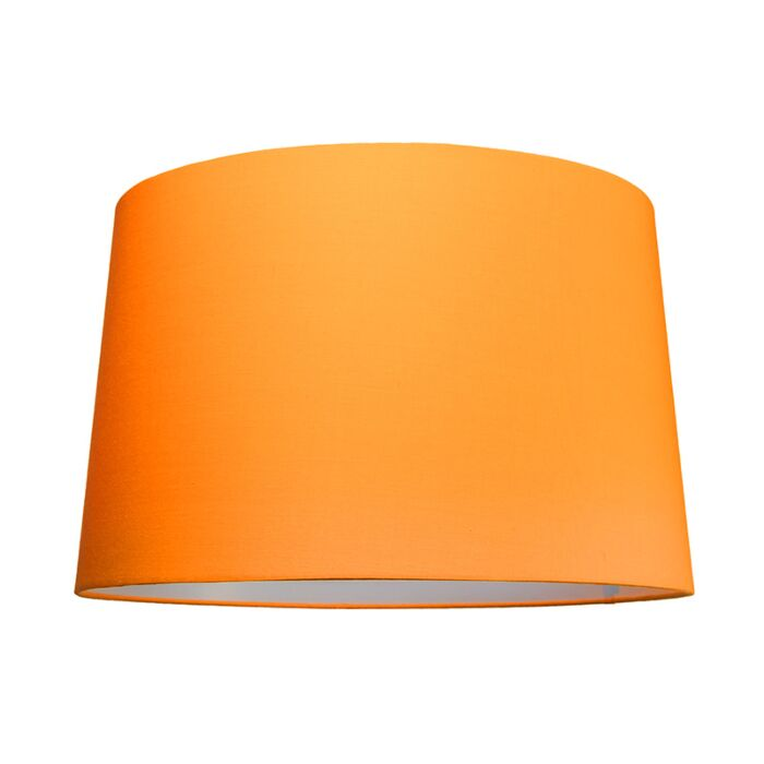 Pantalla-para-lámpara-colgante-50cm-cónica-SU-E27-naranja