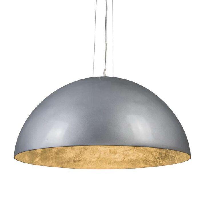 Lámpara-colgante-MAGNA-Glossy-70cm-plata-y-plata