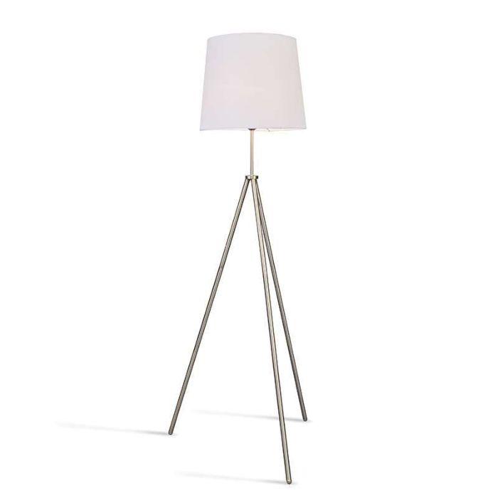Lámpara-de-pie-TRIPODE-acero-pantalla-blanca