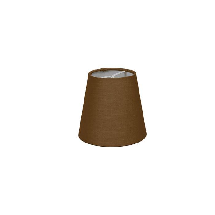 Pantalla-de-gancho-12cm-cónica-SC-marrón