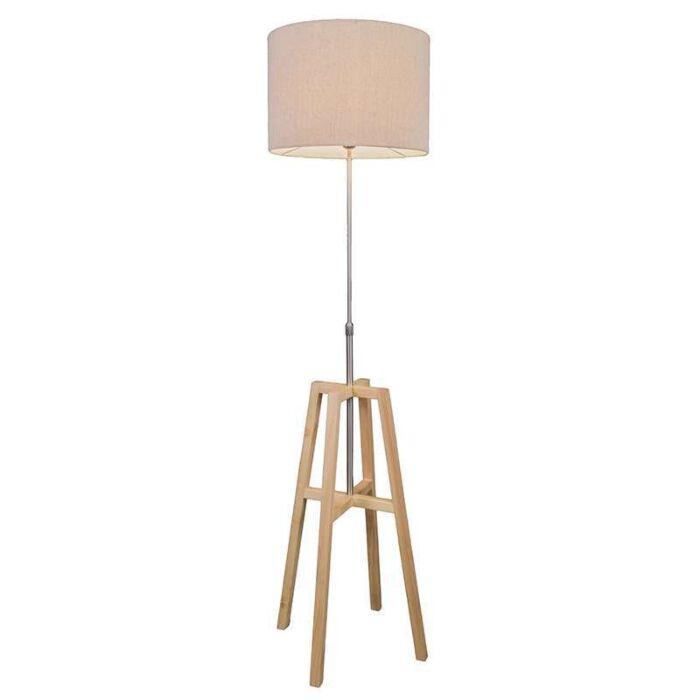Lámpara-de-pie-PATA-de-madera