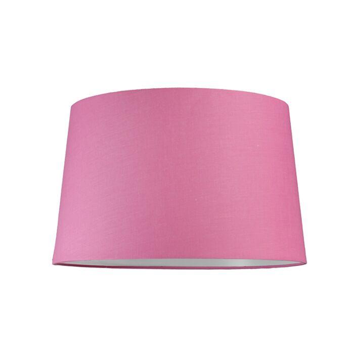 Pantalla-para-lámpara-colgante-40cm-cónica-SU-E27-rosa