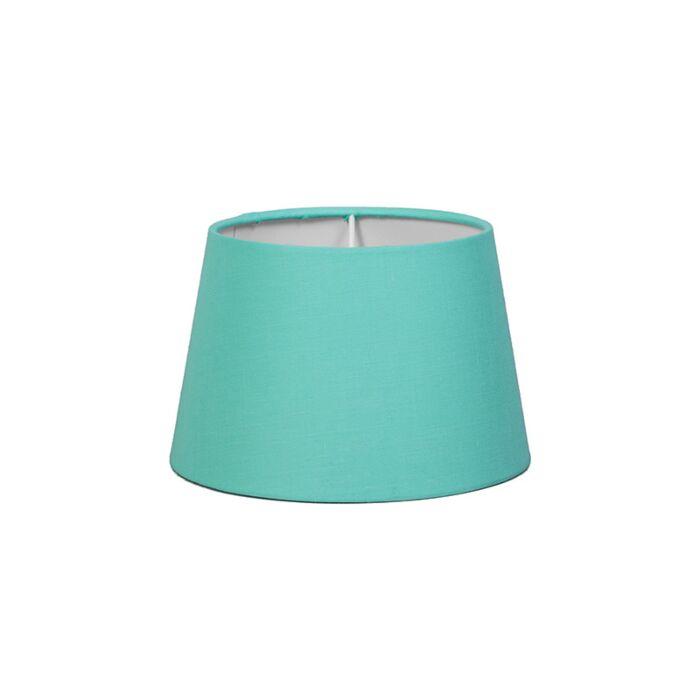 Pantalla-para-lámpara-mesa/aplique-18cm-cónica-SD-E27-turquesa