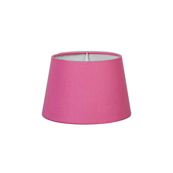 Pantalla-para-lámpara-mesa/aplique-18cm-cónica-SD-E27-rosa