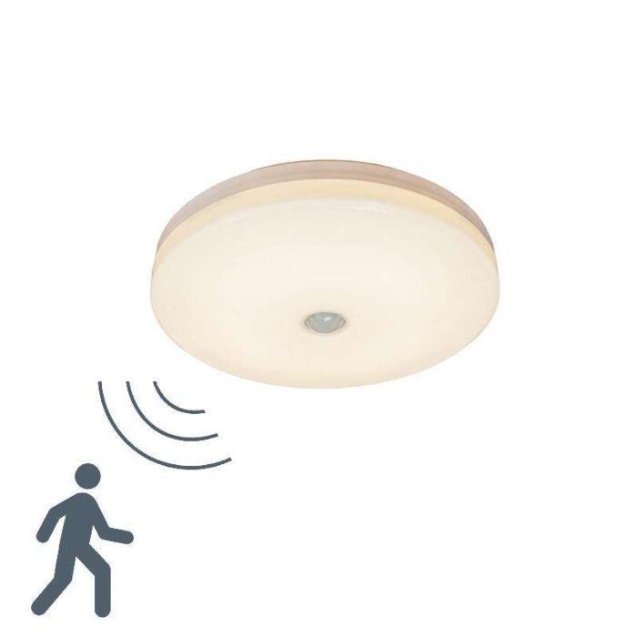 Plafón-MOTION-V-14W-LED-detector-de-movimiento-de-microondas