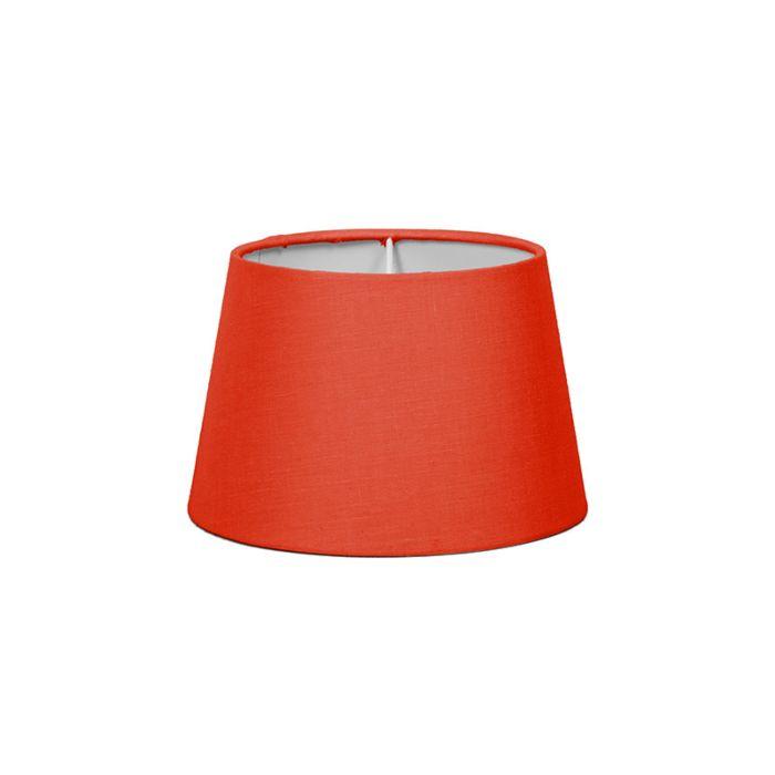 Pantalla-para-lámpara-mesa/aplique-18cm-cónica-SD-E27-roja