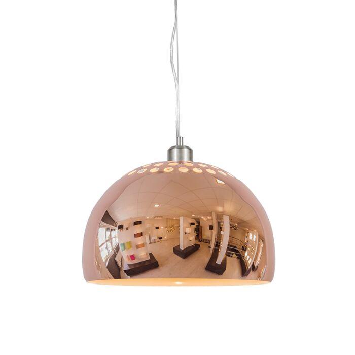 Lámpara-colgante-GLOBE-33cm-cobre