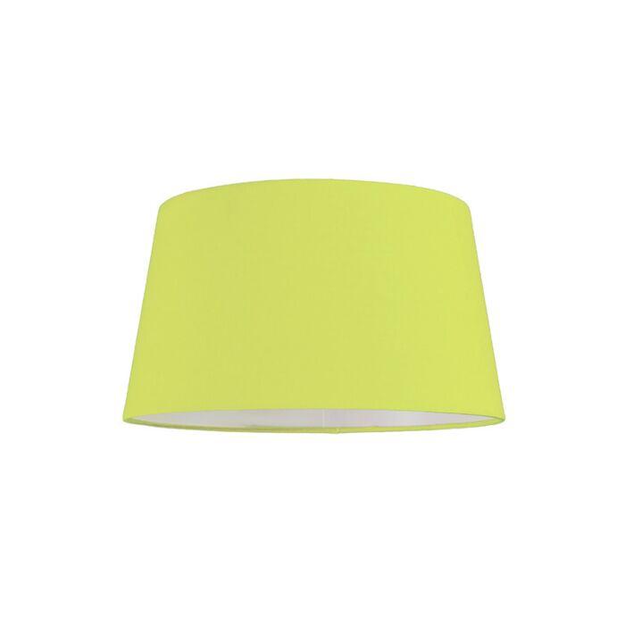 Pantalla-para-lámpara-colgante-30cm-cónica-SU-E27-verde