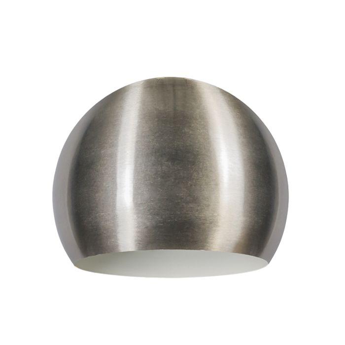 Pantalla-GLOBE-28cm-acero