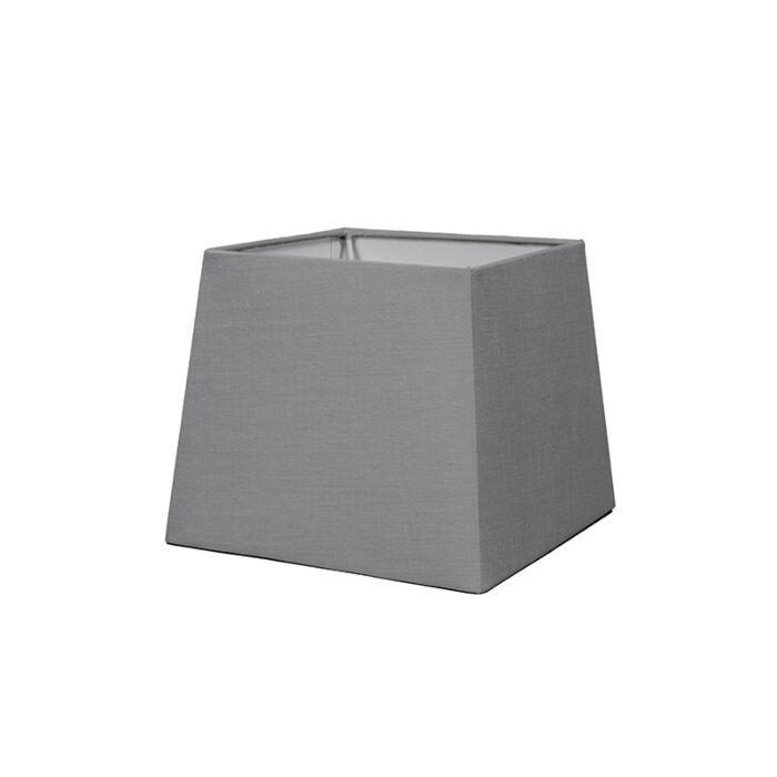 Pantalla-para-lámpara-suelo-/mesa/aplique-18cm-piramidal-SD-E27-gris