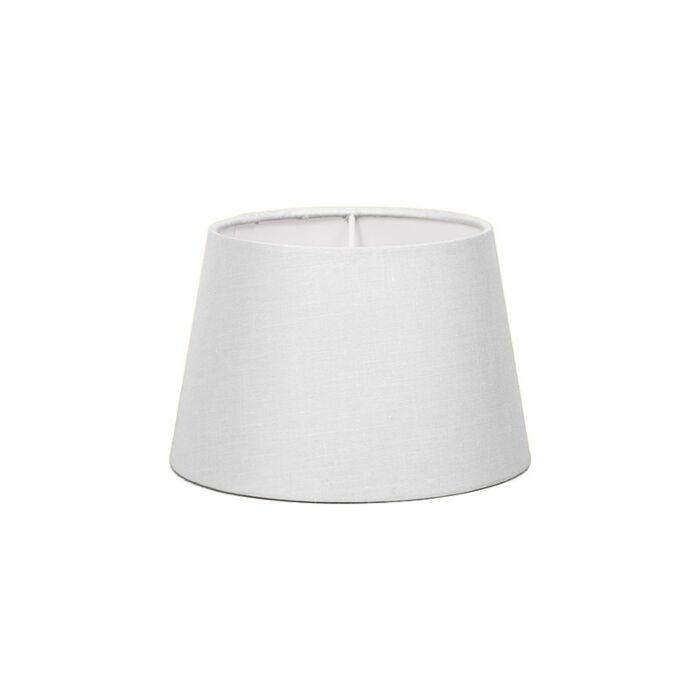 Pantalla-para-lámpara-mesa/aplique-18cm-cónica-SD-E27-blanca