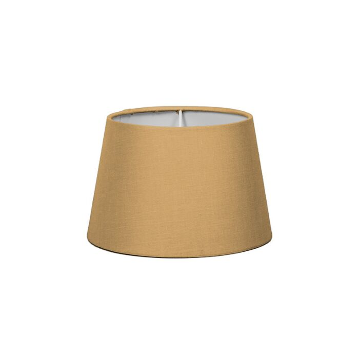 Pantalla-para-lámpara-mesa/aplique-18cm-cónica-SD-E27-beige